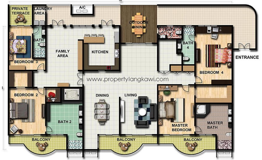 Langkawi apartment for sale for Apartment plans for sale
